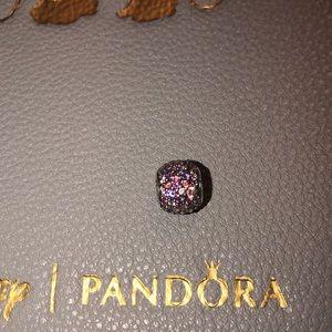 Authentic Pandora Pave' lights charm